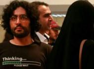 آزاده نامداری و برادر گلشیفته در زعفرانیه