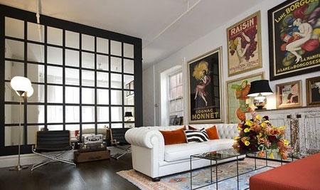 ایده های جالب و خلاقانه از دیزاین منزل با آینه