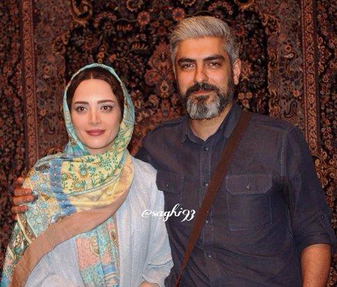 جدید ترین عکس های مهدی پاکدل و همسرش بهنوش طباطبایی