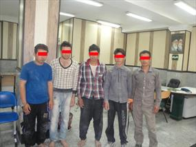 تصاویر دستگیری داعشی های تقلبی در تهران