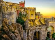 تصاویر زیبا از کاخ ملی پنا در پرتغال
