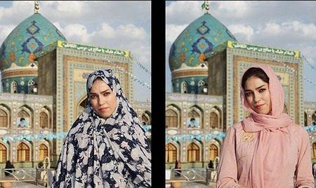 وقتی دخترای ایرانی خاله قزی میشن