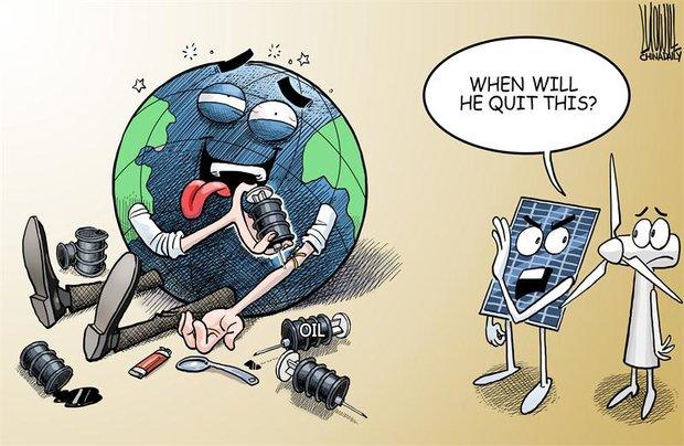 سفر به دور دنیا با کاریکاتور های روز