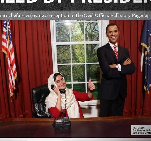 الناز شاکردوست و باراک اوباما یهویی