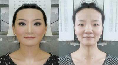 معجزه گریم روی صورت زنان زشت + سری کامل آموزش