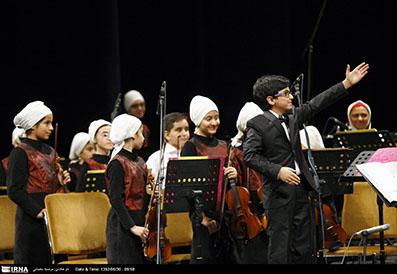 جوانترین ارکستر ایران با سن 13 سال انتخاب شد