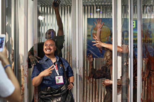 جشنواره کمیک استریپ روی تراموای شهر ساندیگو