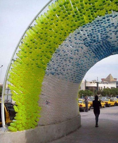 تونل بازیافتی جالب و زیبا در مشهد