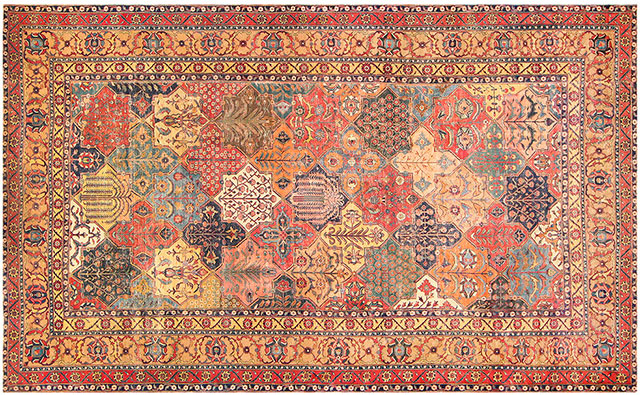 فرش ها و قالی های 400 ساله پرشین در موزه سوئد