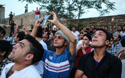 تصاویر جالب از مسابقه کفتر بازی در تهران