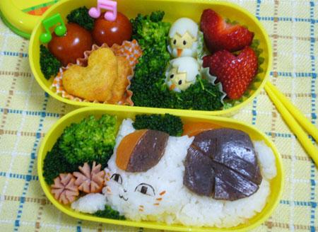 جدیدترین نمونه های تزیین غذای کودک توسط مادر خلاق چینی