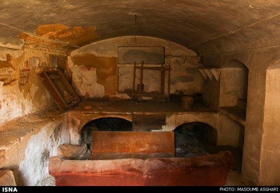تصاویر اوضاع اسفبار تخریب تدریجی کاخ امینالسلطان