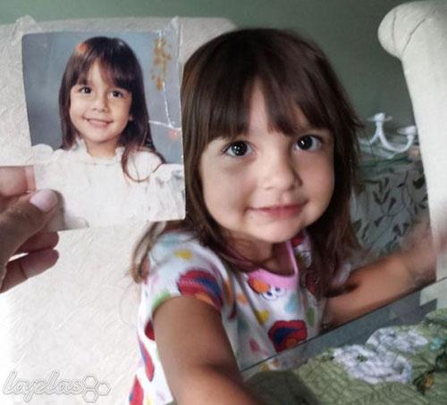 شباهت جالب فرزندان به والدین در عکس های قدیمی و جدید