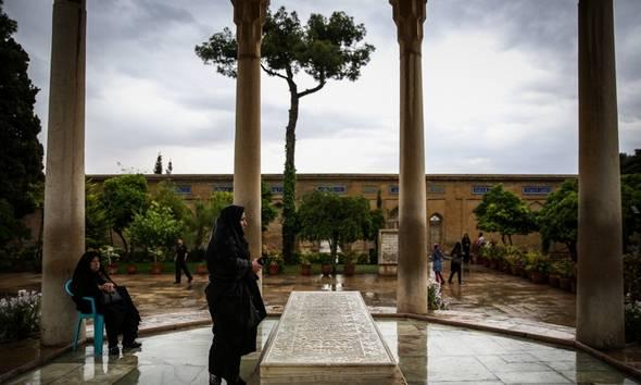 تصاویر زیبا از حافظیه در تابستان