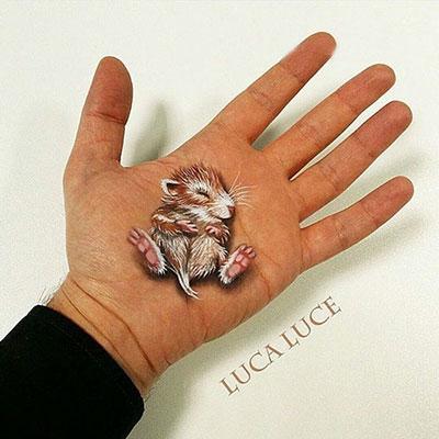 دست های عجیب و غریب با نقاشی 3D
