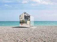 کلبه آینهای فقط در سواحل انگلیس