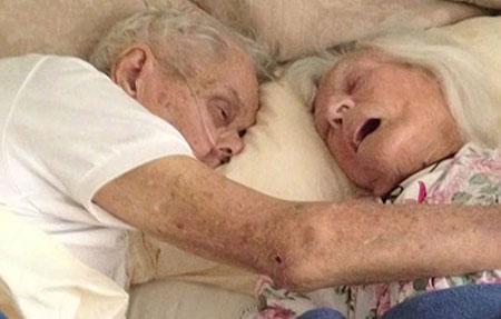 زوجی که حتی مرگ هم آنها را از هم جدا نکرد