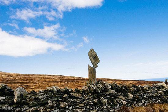 تصاویر جالب از تعادل عجیب سنگ ها