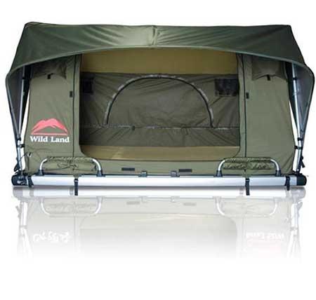 اختراع چادر سقفی برای اسکان روی سقف اتومبیل