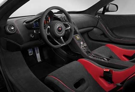 خودرو زیبای مک لارن 675LT مدل 2016