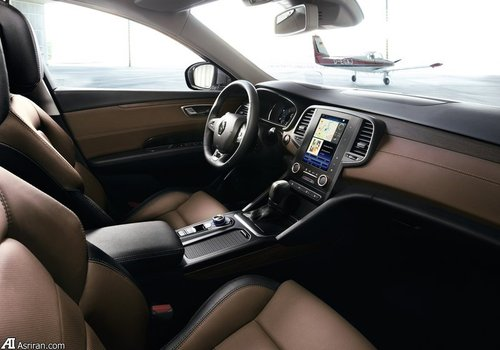 طراحی مدل جدید و زیبای ماشین رنو Talisman مدل 2016