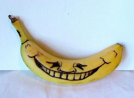 عکس های خنده دار از هنرنمایی با موز