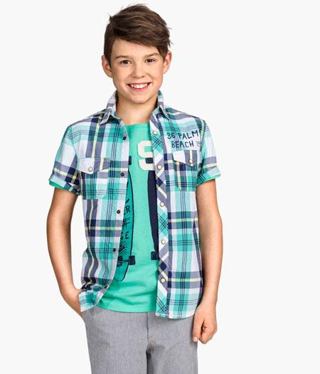 جدیدترین مدل پیراهن و تی شرت پسر انه 2015