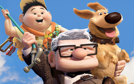 انیمیشن های برتر کمپانی پیکسار