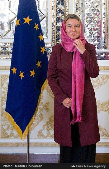 آیا فدریکا موگرینی با حجاب زیباتر نیست ؟