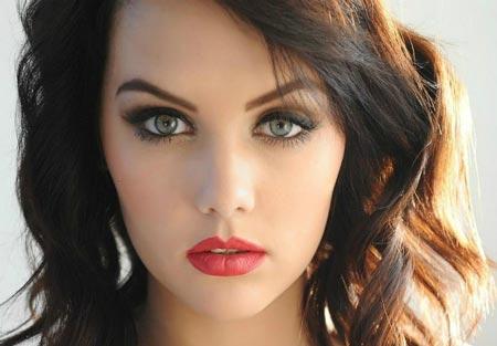 زیباترین دختر های جهان بدون جراحی