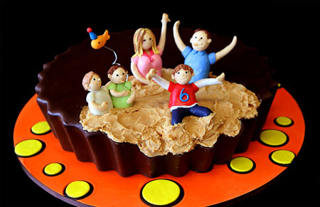 جدیدترین مدل های کیک تولد 2015 دخترانه و پسرانه