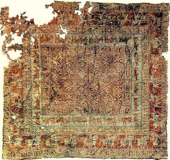 قدیمی ترین فرش هخامنشی جهان