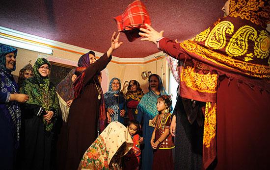 رسوم جالب عروسی ترکمن ها