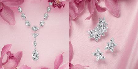 کلکسیون جواهرات و الماس های بسیار زیبا الماس های LEVIEV