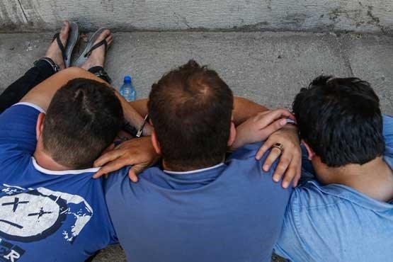 تصاویر دستگیری سارقان خشن تهران