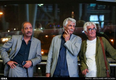 عکس های نیکی کریمی در جشنی کارگردانان سینما