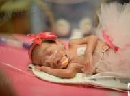 100 روز عکس برداری از نوزاد نارس توسط مادر دلشکسته