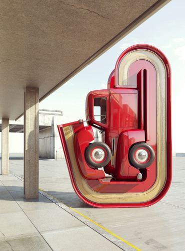 طرح های خلاقانه از تطبیق ماشین های لوکس