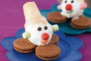 طرز تهیه بستنی دلقکی برای تولد