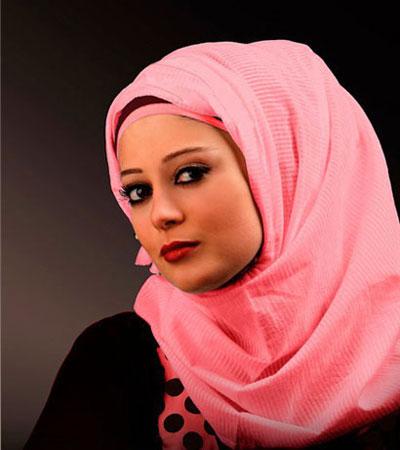 زیباترین مدل های روسری و شال لبنانی