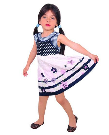 زیباترین پیراهن های تابستانه دختر بچگانه 2015