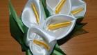 آموزش ساخت گل شیپوری روبانی