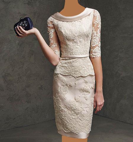 مدل لباس های زیبا با دیزاین گیپور