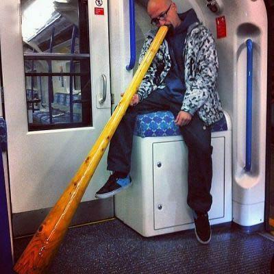 تیپ های فشن و عجیب و غریب در مترو