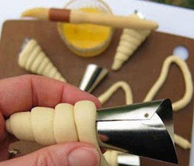 دیزاین سالاد الویه را به شکل هویج