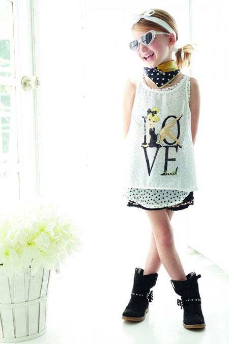 مجموعه مدل لباس های متفاوت و تابستانه دخترانه