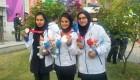 تیم تیراندازی بانوان ایران موفق به دریافت مدال برنز مسابقات تیراندازی جهان شد