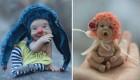 عروسک های زیبای بند انگشتی که با انسان مو نمیزند
