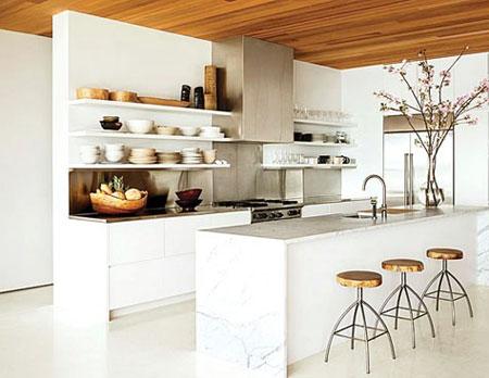 چگونه یک آشپزخانه لوکس و کم خرج داشته باشیم