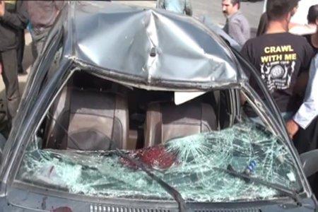 دختر ۳ساله در تصادف پژو در اتوبان ساوه – تهران جان باخت